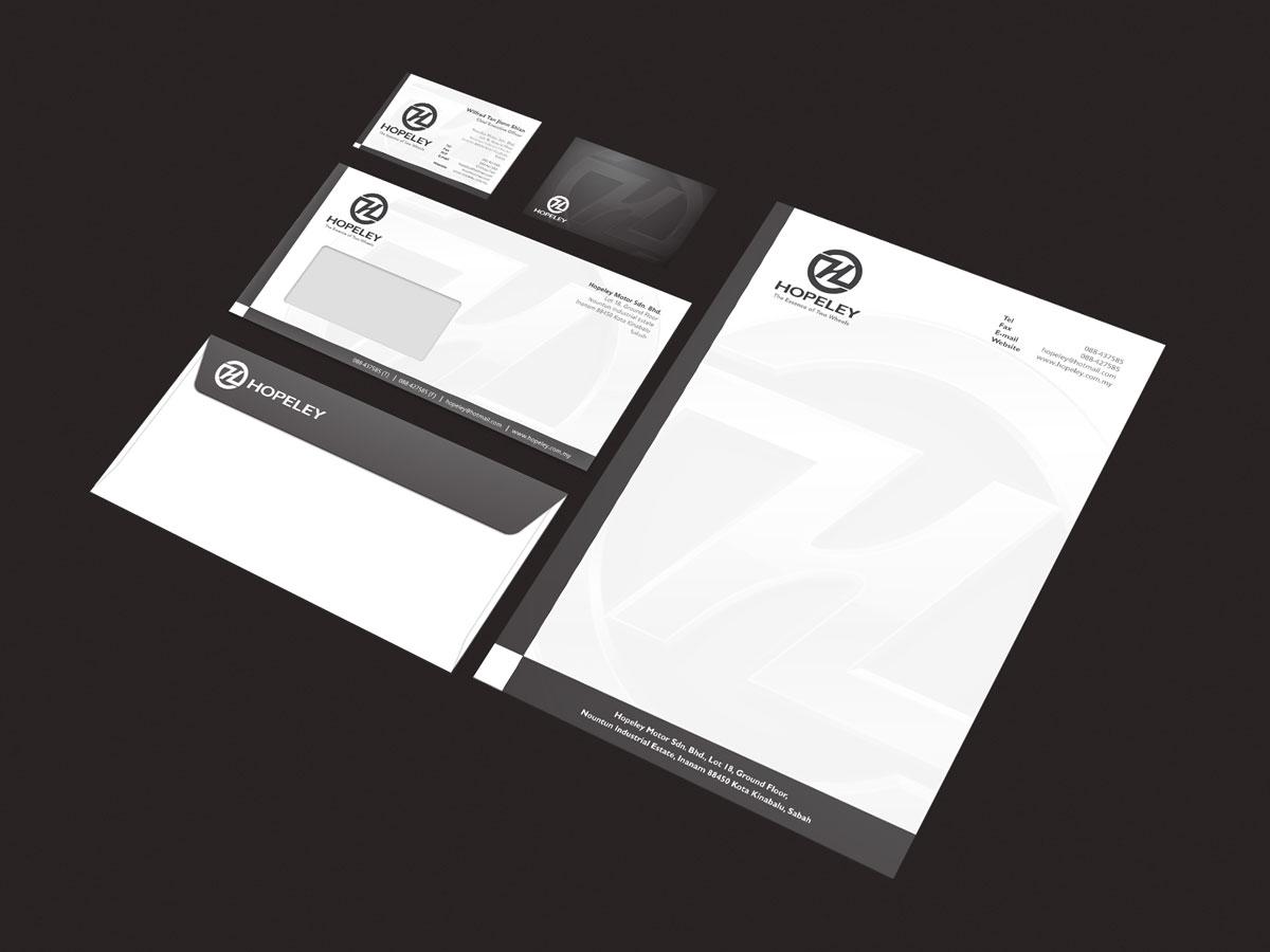 Hopeley Branding Stationery Design 04