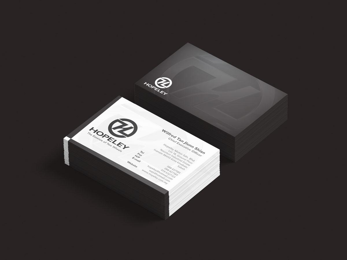 Hopeley Branding Business Card Design 05
