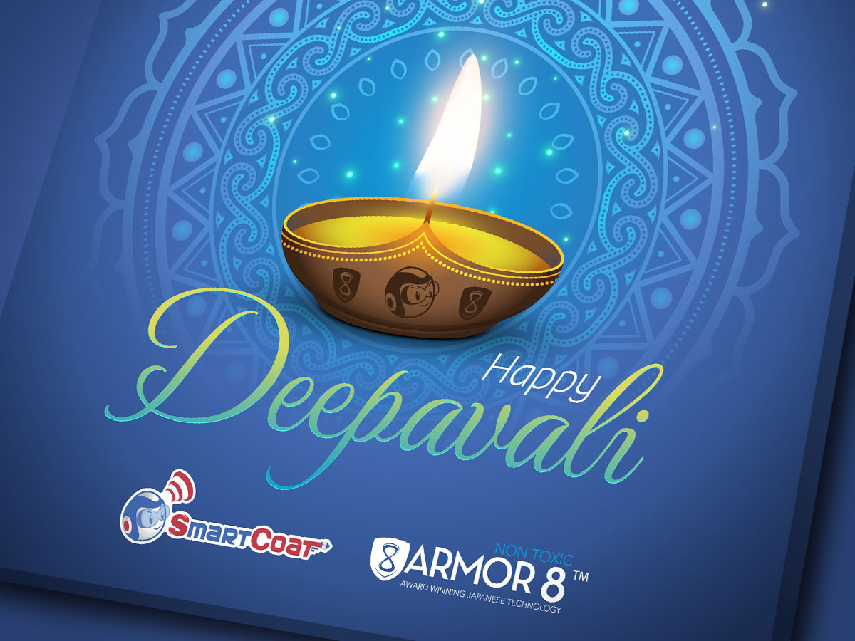 SmartCoat and Armor8 Happy Deepavali 2018 Facebook Post Design 01
