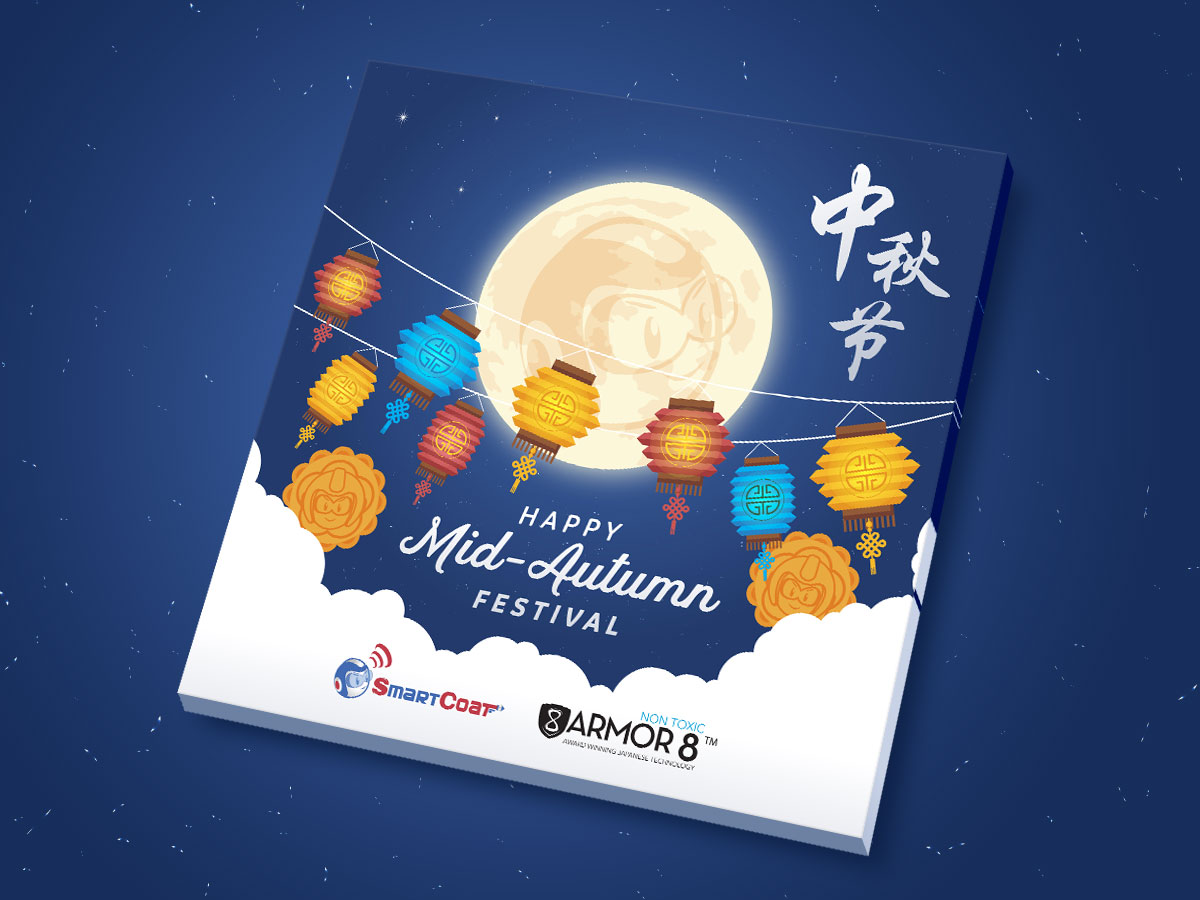 SmartCoat and Armor8 Happy Mid-Autumn Festival 2018 Facebook Post Design 02