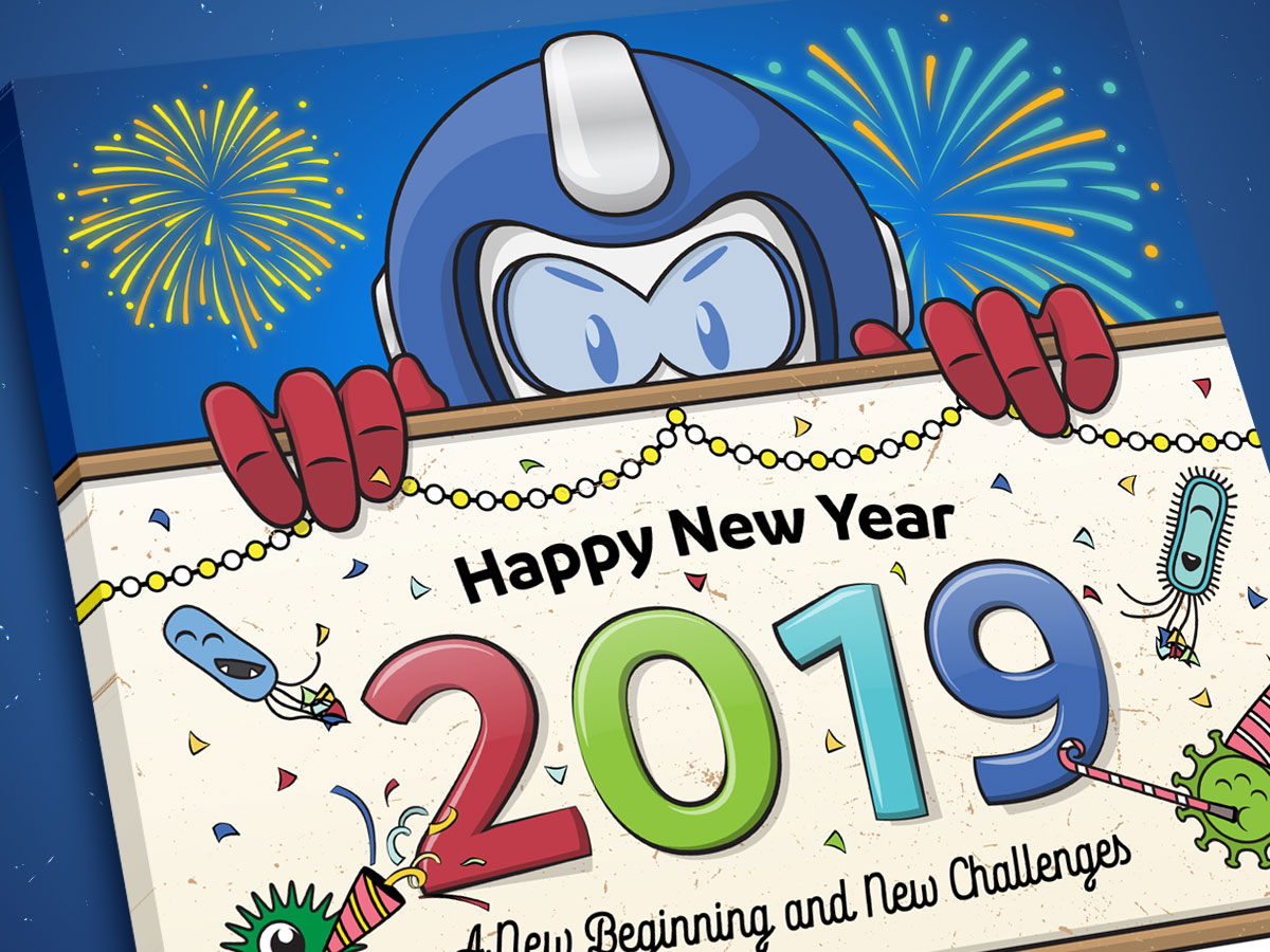 SmartCoat and Armor8 Happy New Year 2019 Facebook Post Design 01
