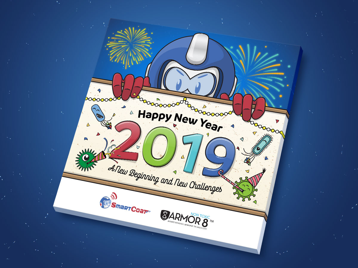 SmartCoat and Armor8 Happy New Year 2019 Facebook Post Design 02