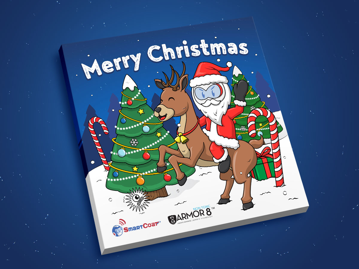 SmartCoat and Armor8 Merry Christmas 2018 Facebook Post Design 02