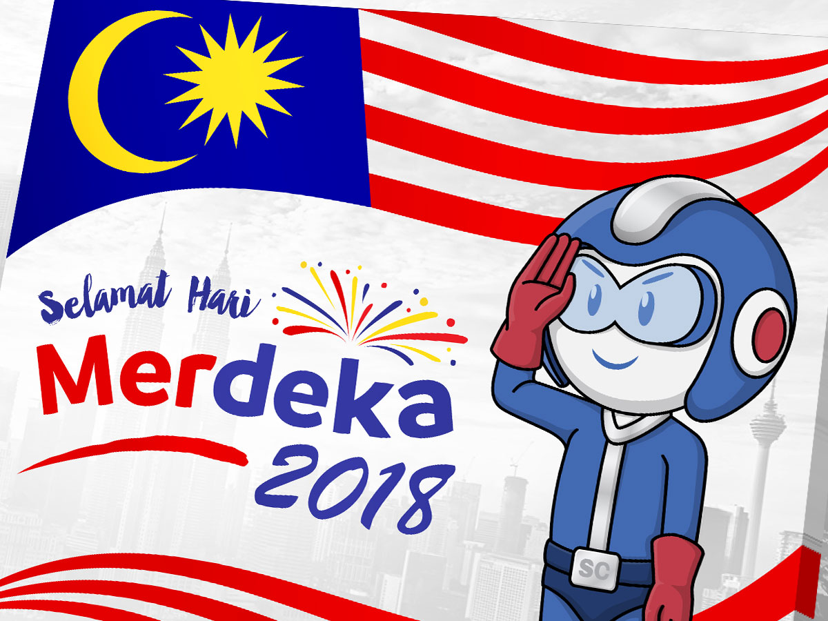SmartCoat and Armor8 Selamat Hari Merdeka 2018 Facebook Post Design 01