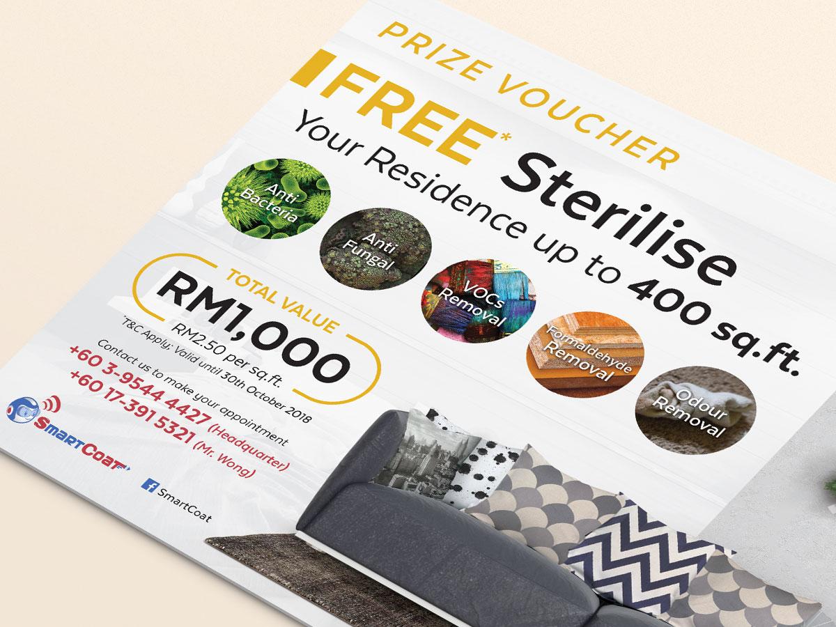 SmartCoat Free Residential Sterilisation Prize Voucher Design 01