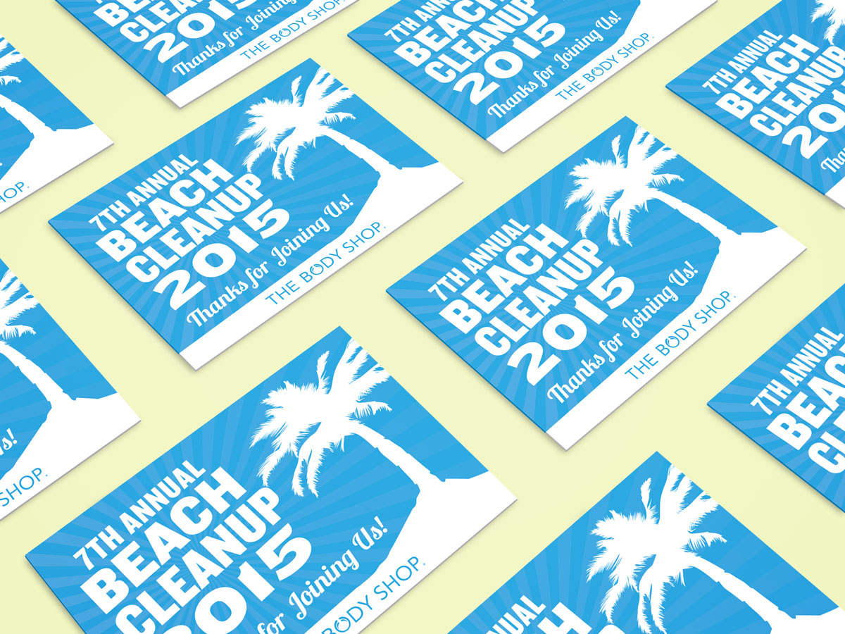 The Body Shop 7th Annual Beach Cleanup Vouchers 03