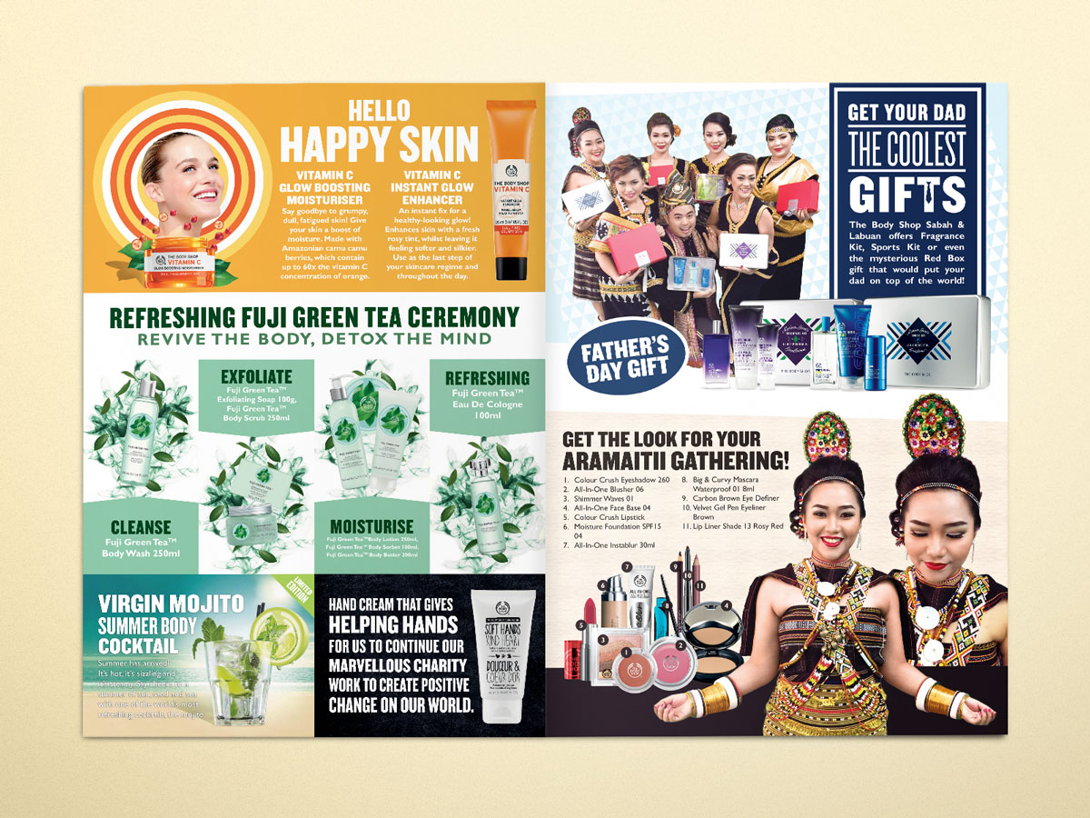 The Body Shop Kaamatan and Father's Day Newsletter 2015 Design 05