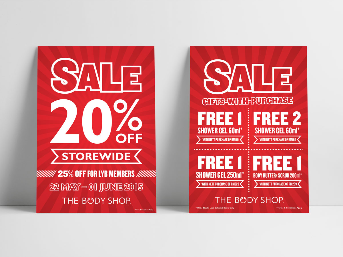 The Body Shop Mid-Year Sale 2015 Design 01
