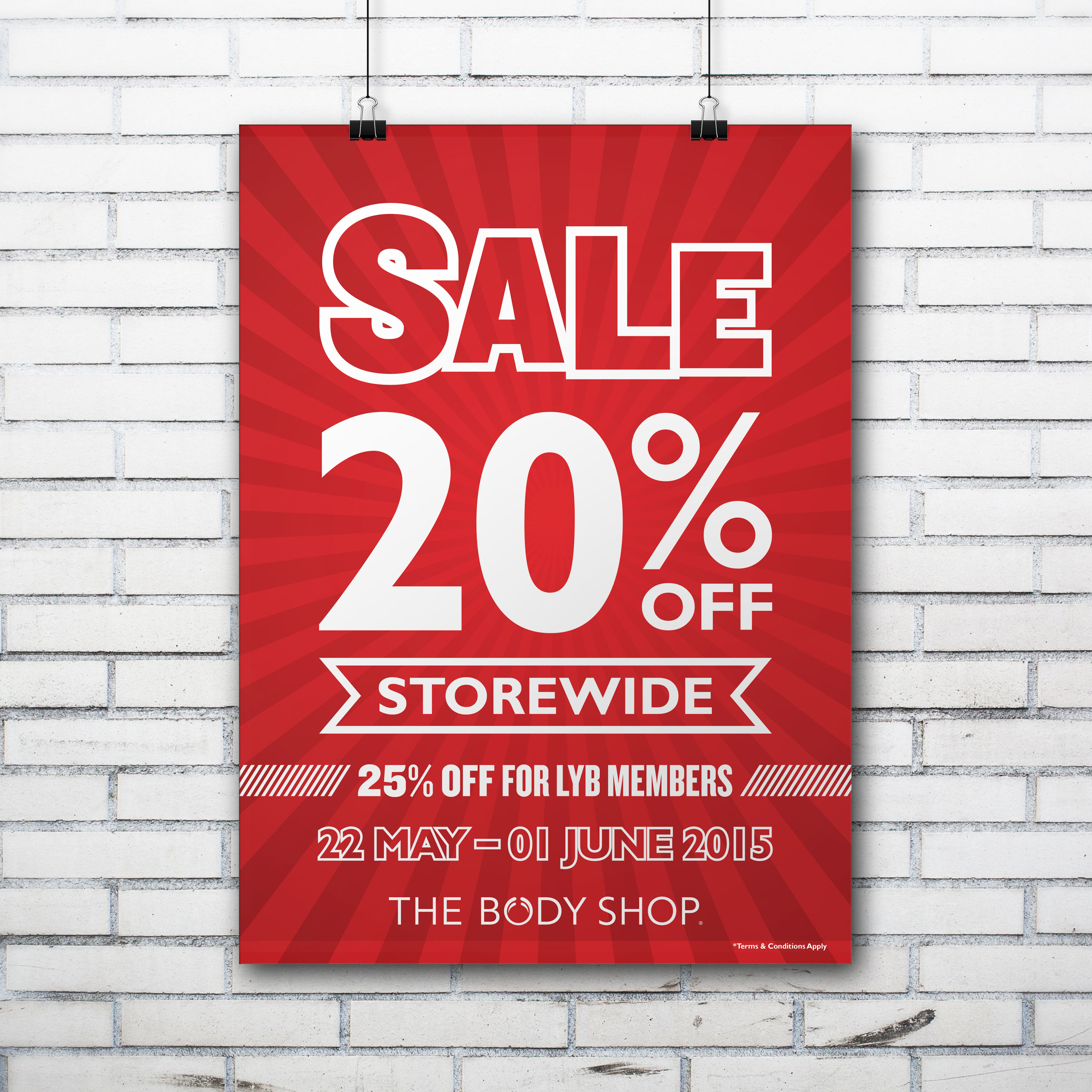 The Body Shop Mid-Year Sale 2015 Design 02